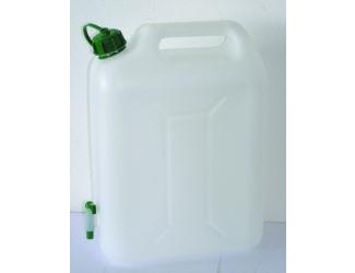 Kanystr na vodu 10 l s kohoutkem plast