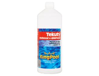 Kingpool vločkovač zjiskřovač 1l tekutý