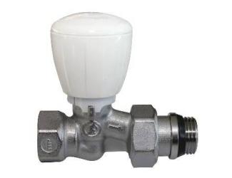 GIACOMINI R422TG Termostatický ventil přímí s ruční hlavou