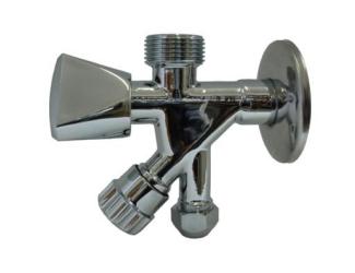 """STENO kombinovaný ventil 3/8""""x1/2""""x3/8"""""""