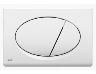 ALCA PLAST ovládací tlačítko M70 bílá dual