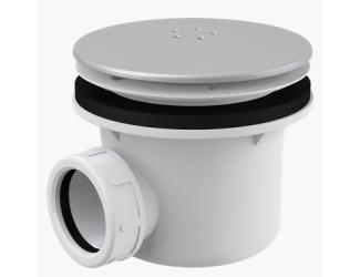 ALCA PLAST A49K MAT vaničkový sifon 90 mm matný chrom