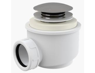 ALCA PLAST A465 50 vaničkový sifon 50 mm chrom click/clack