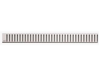 ALCA PLAST PURE 750 L rošt pro podlahový žlab lesklý