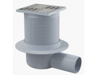ALCA PLAST APV31 Podlahová vpusť 105x105/50 mm boční