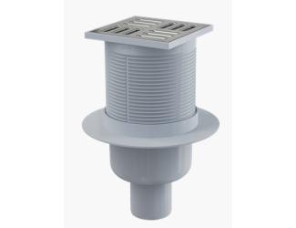 ALCA PLAST APV2 Podlahová vpust 105x105/50 mm přímá