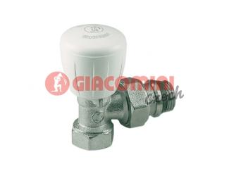 GIACOMINI R421TG Termostatický ventil rohový s ruční hlavou