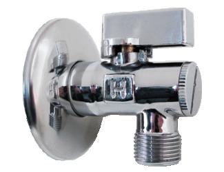 """STENO Rohový ventil s filtrem 3/8""""x1/2"""""""