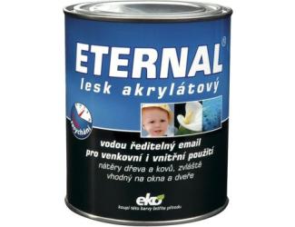 ETERNAL Barva lesk akryl 0.7kg bílá