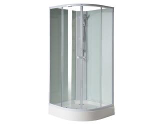 SAPHO Aigo čtvrtkruhový sprchový box 900x900x2060 mm