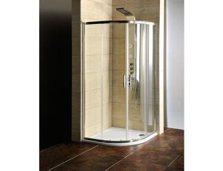 SAPHO Sprchový kout+vanička 90